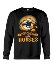 Witches With Horses Crewneck Sweatshirt thumbnail