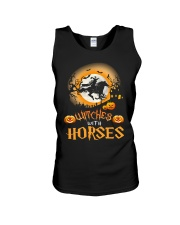 Witches With Horses Unisex Tank thumbnail