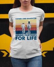 Father And Daughter Riding Partners For Life Ladies T-Shirt apparel-ladies-t-shirt-lifestyle-04