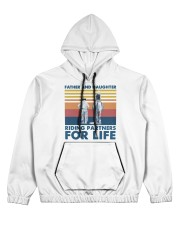 Father And Daughter Riding Partners For Life Women's All Over Print Hoodie tile
