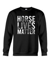 Horse Lives Matter Shirt Crewneck Sweatshirt thumbnail