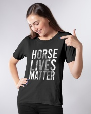 Horse Lives Matter Shirt Ladies T-Shirt apparel-ladies-t-shirt-lifestyle-front-09