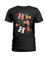 Ho Ho Ho Ladies T-Shirt front