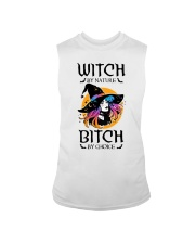 Witch By Nature Bitch By Choice Sleeveless Tee thumbnail