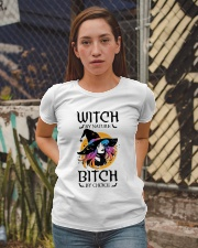 Witch By Nature Bitch By Choice Ladies T-Shirt apparel-ladies-t-shirt-lifestyle-03