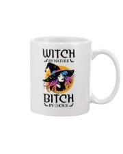 Witch By Nature Bitch By Choice Mug thumbnail