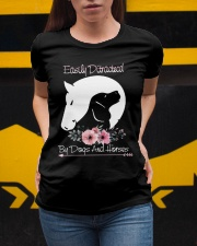 Easily Ditractecd By Dogs And Horses Ladies T-Shirt apparel-ladies-t-shirt-lifestyle-04