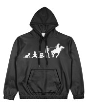Evolution Life Is Better With Horses Women's All Over Print Hoodie thumbnail