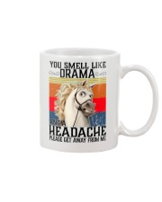 You Smell Like Drama And A Headache  Mug tile