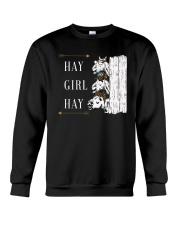 Hay girl hay Crewneck Sweatshirt thumbnail