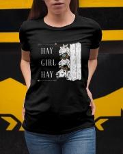 Hay girl hay Ladies T-Shirt apparel-ladies-t-shirt-lifestyle-04
