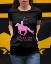 Be A Warrior Not A Worrier Ladies T-Shirt apparel-ladies-t-shirt-lifestyle-04