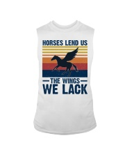 Horses lend us the wings we lack Sleeveless Tee thumbnail