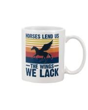 Horses lend us the wings we lack Mug thumbnail