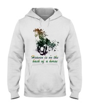 Heaven is on the back of a horse colors Hooded Sweatshirt thumbnail
