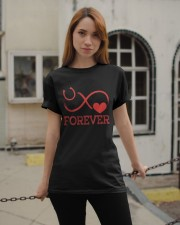 Forever Life Is Better With Horses Classic T-Shirt apparel-classic-tshirt-lifestyle-19