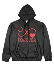 Forever Life Is Better With Horses Women's All Over Print Hoodie thumbnail
