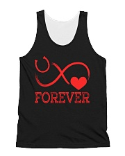 Forever Life Is Better With Horses All-over Unisex Tank thumbnail