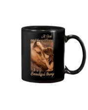 a girl and her horse it's a beautiful thing Mug thumbnail