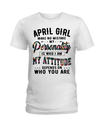 APRIL GIRL MAKE NO MISTAKE