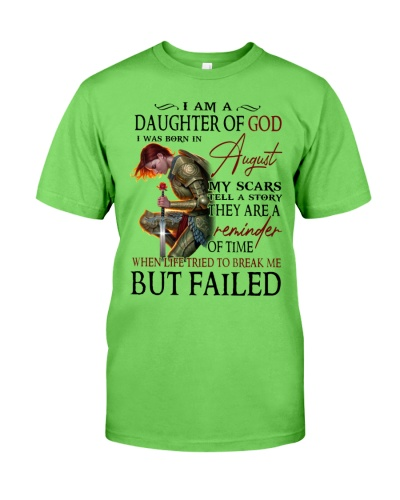 I AM A DAUGHTER OF GOD I WAS BORN IN AUGUST