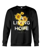 A LIVING HOPE - WARRIOR OF CHRIST Crewneck Sweatshirt thumbnail