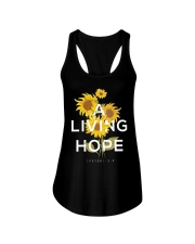 A LIVING HOPE - WARRIOR OF CHRIST Ladies Flowy Tank thumbnail