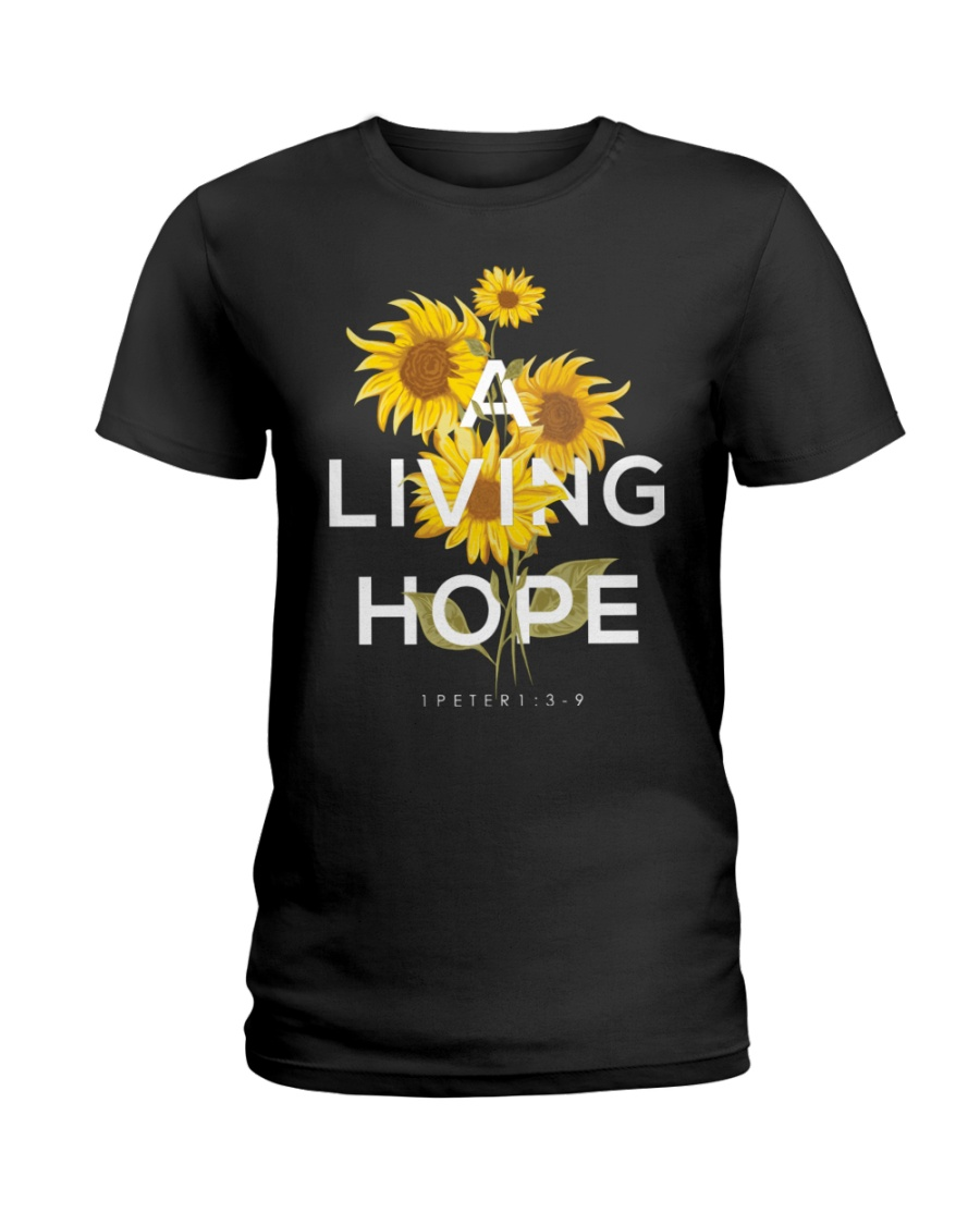 A LIVING HOPE - WARRIOR OF CHRIST Ladies T-Shirt