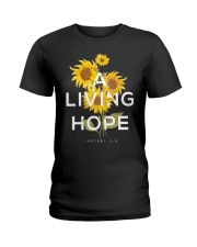 A LIVING HOPE - WARRIOR OF CHRIST Ladies T-Shirt front