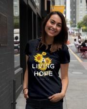A LIVING HOPE - WARRIOR OF CHRIST Ladies T-Shirt lifestyle-women-crewneck-front-5