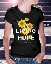 A LIVING HOPE - WARRIOR OF CHRIST Ladies T-Shirt lifestyle-women-crewneck-front-7