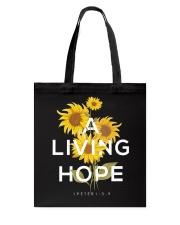 A LIVING HOPE - WARRIOR OF CHRIST Tote Bag thumbnail