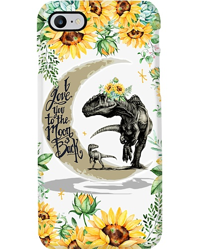 I LOVE YOU TO THE MOON AND BACK - DINOSAUR