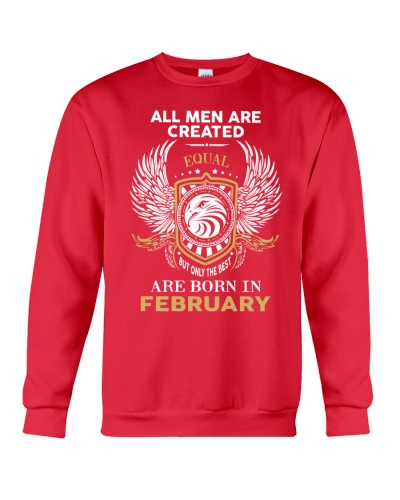 THE BEST ARE BORN IN FEBRUARY - LIMITED EDITION