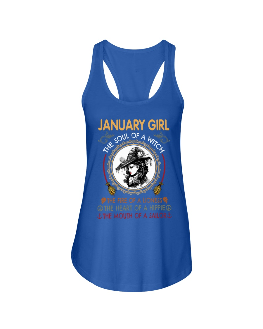 JANUARY - LIMITED EDITION Ladies Flowy Tank