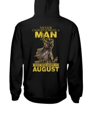 NEVER UNDERESTIMATE A MAN OF FAITH - AUGUST Hooded Sweatshirt thumbnail