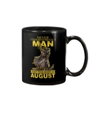 NEVER UNDERESTIMATE A MAN OF FAITH - AUGUST Mug thumbnail