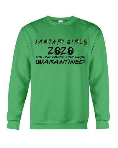 JANUARY GIRLS THE ONE WHERE THEY WERE QUARANTINED
