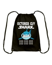 OCTOBER GUY SHARK DOO DOO DOO Drawstring Bag thumbnail