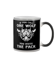WOLVES - IF YOU CALL ONE WOLF Color Changing Mug thumbnail