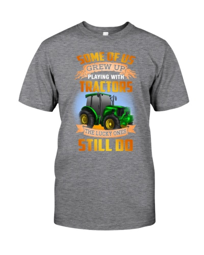 SOME OF US GREW UP PLAYING WITH TRACTORS - FARMER