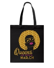 QUEENS ARE BORN IN MARCH Tote Bag thumbnail