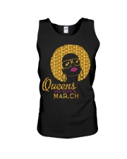 QUEENS ARE BORN IN MARCH Unisex Tank thumbnail