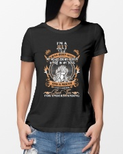JULY GIRL WAS BORN WITH MY HEART ON MY SLEEVE Ladies T-Shirt lifestyle-women-crewneck-front-10