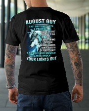 AUGUST GUY Classic T-Shirt lifestyle-mens-crewneck-back-3
