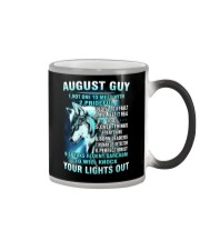 AUGUST GUY Color Changing Mug thumbnail