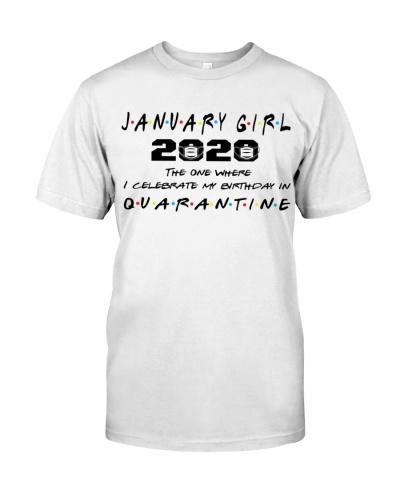 JANUARY GIRL 2020CELEBRETE BIRTHDAY IN QUARANTINE