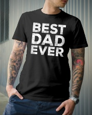 BEST DAD EVER Classic T-Shirt lifestyle-mens-crewneck-front-6