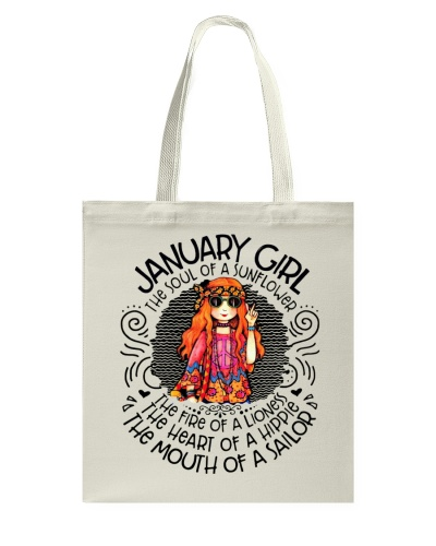 JANUARY GIRL - THE SOUL OF A SUNFLOWER