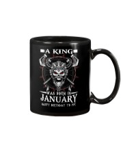 A KING WAS BORN IN JANUARY Mug thumbnail